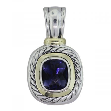 David Yurman Iolite Pendant