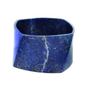 Tiffany and Co Frank Gehry Torque Lapis Bracelet, frank gehry jewelry, lapis lazuli