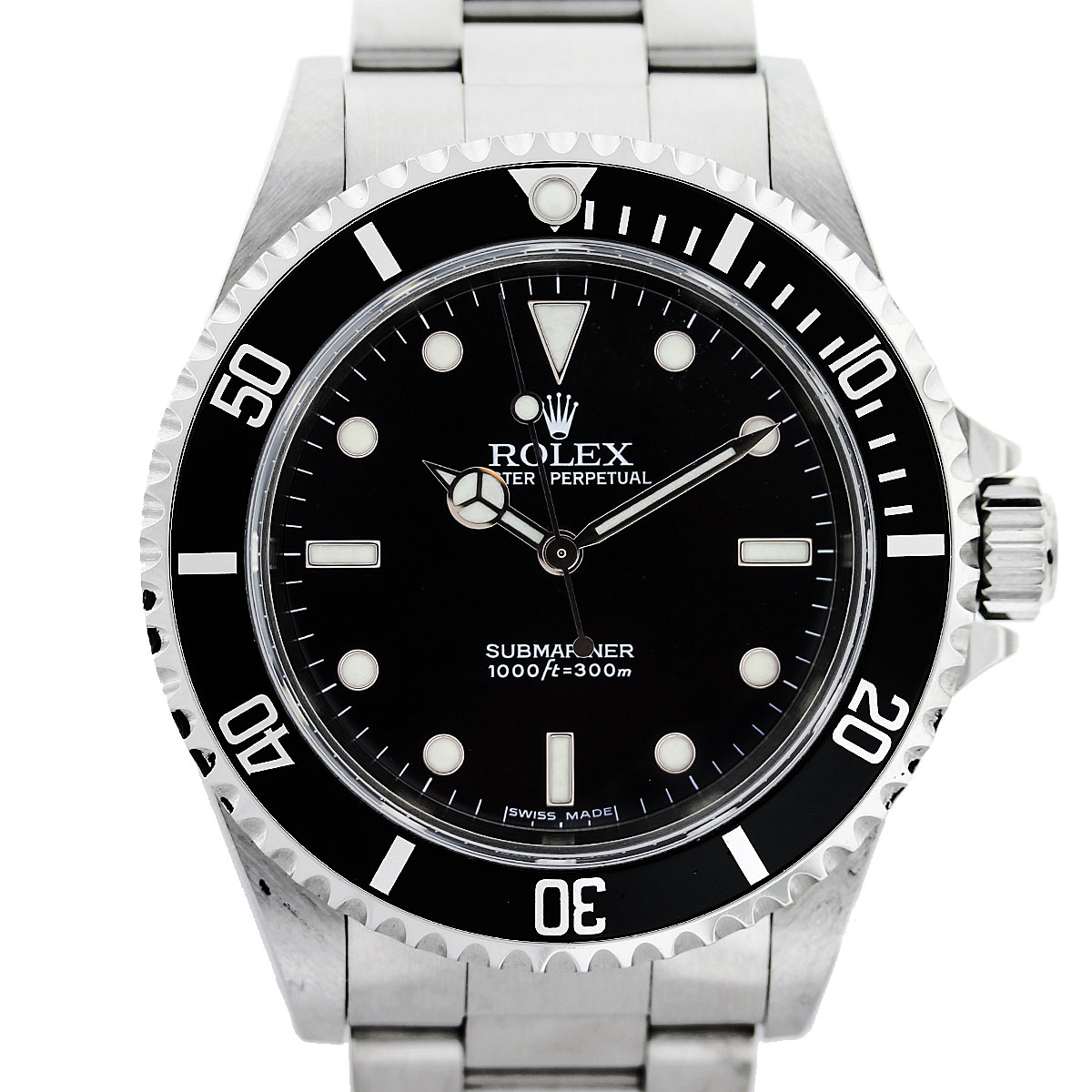 how to date a rolex submariner watch