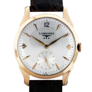 Longines 18kt Rose Gold Automatic