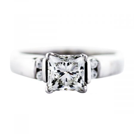 princess cut 1 carat diamond ring boca raton