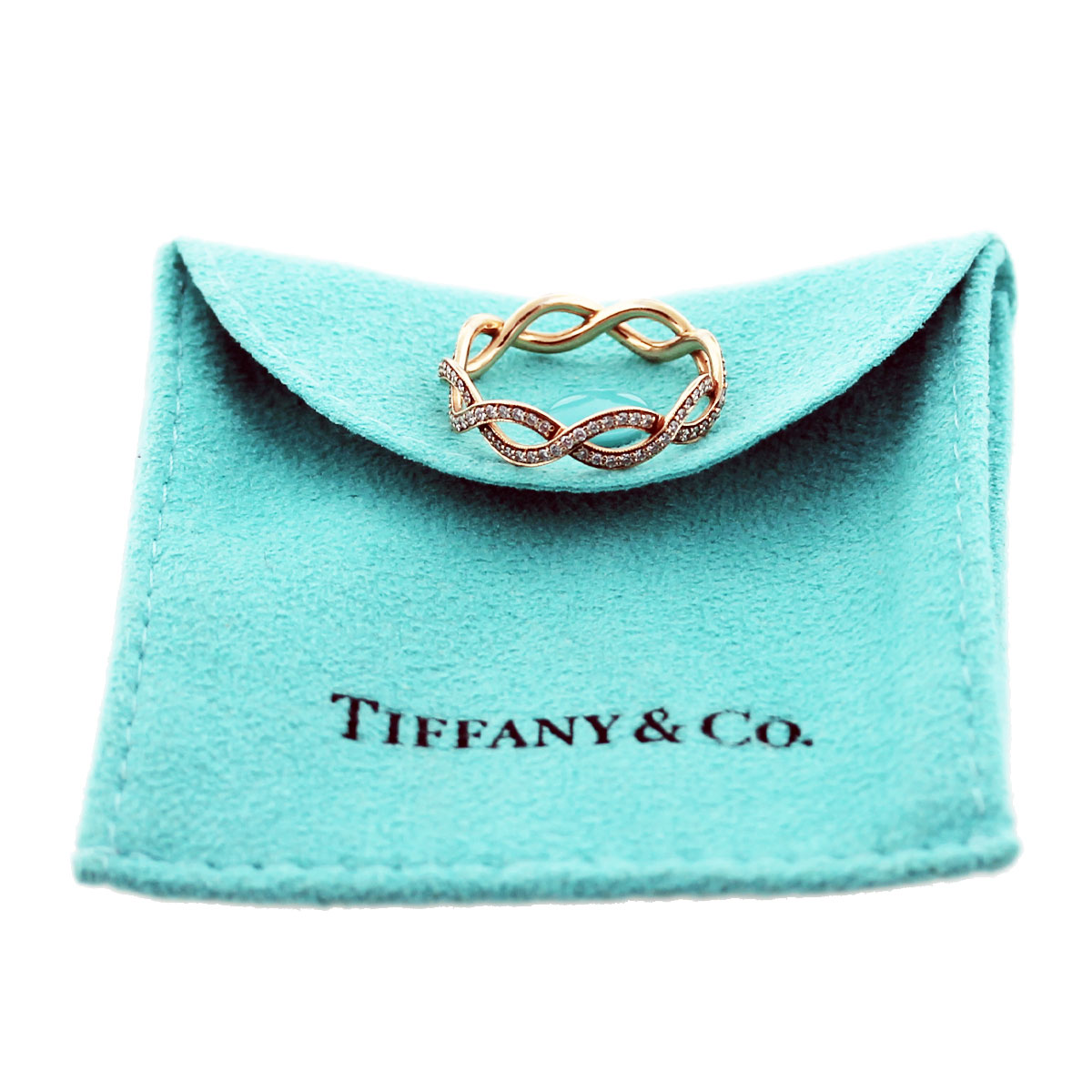 Tiffany Rose Gold Ring Sale