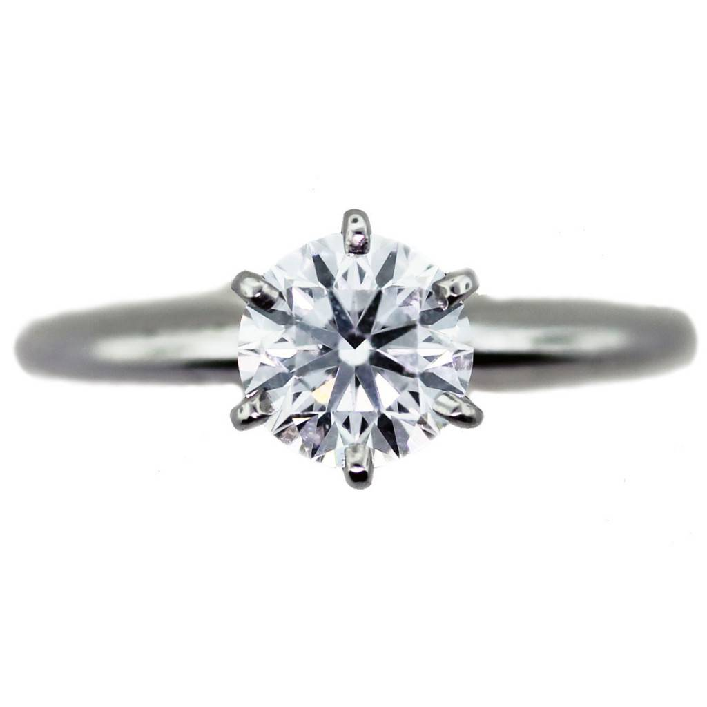 solitaire engagement ring, tiffany setting engagement ring, tiffany style engagement ring