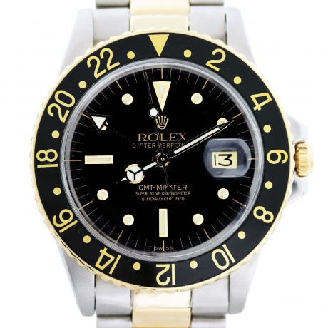 Rolex GMT Master 1675 Two Tone Mens Watch