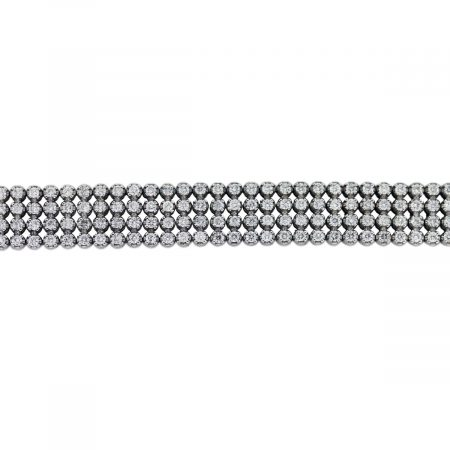 Diamond 4 Row Bracelet