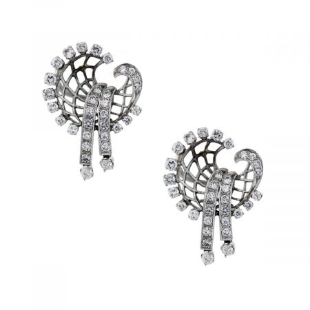Diamond Flare Earrings