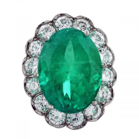 emerald diamond ring 1