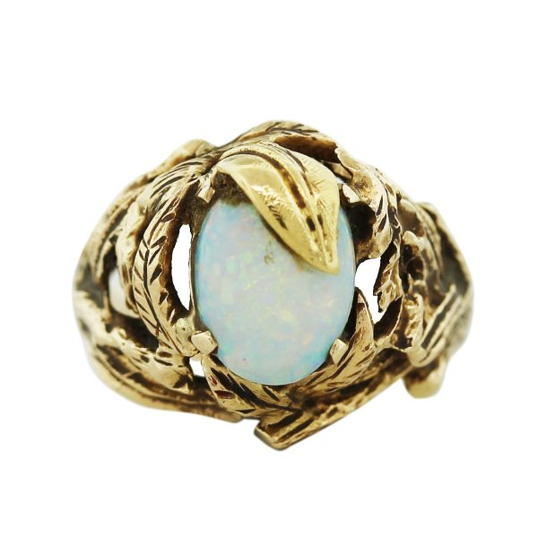 Opal Nugget Ring