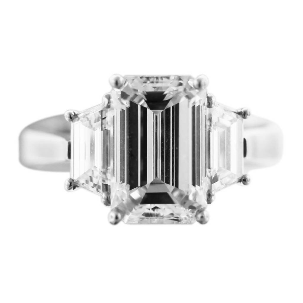 3 carat emerald cut diamond engagement ring boca raton. Black Bedroom Furniture Sets. Home Design Ideas