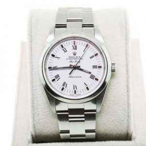 Pre-Owned Rolex Stainless Steel Air-King 14000, preowned rolex, rolex air king ebay