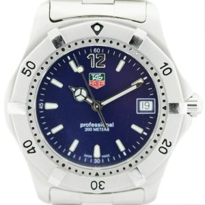 Tag Heuer WK1113-1 Stainless Steel Watch