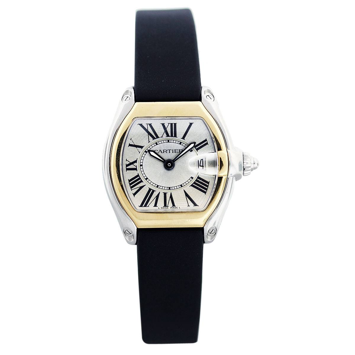 Cartier Roadster W62026Y4 Two Tone Ladies Automatic Watch, cartier boca raton, sell watch boca raton