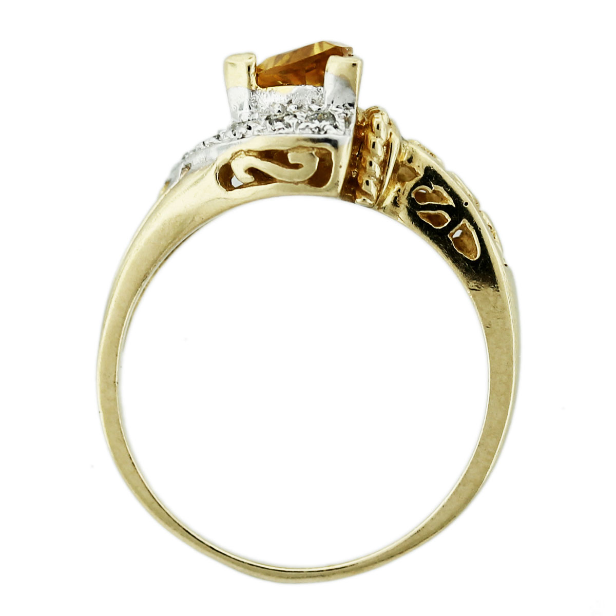 How Much Is A K Gold Ring With Diamonds Worth