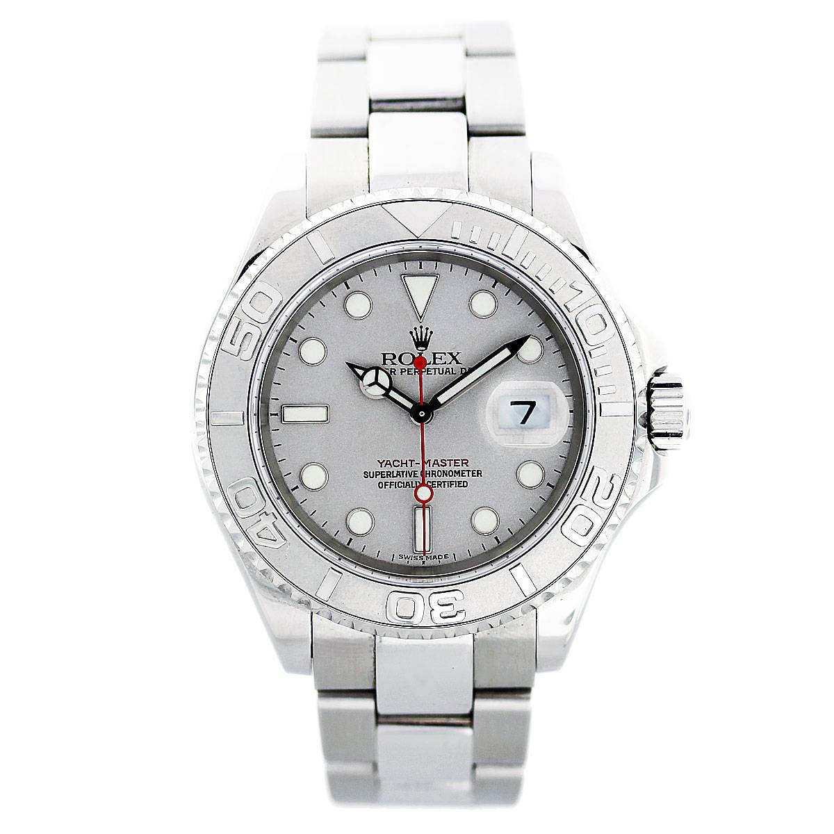 Rolex Yachtmaster 16622 Platinum and Stainless Steel Watch