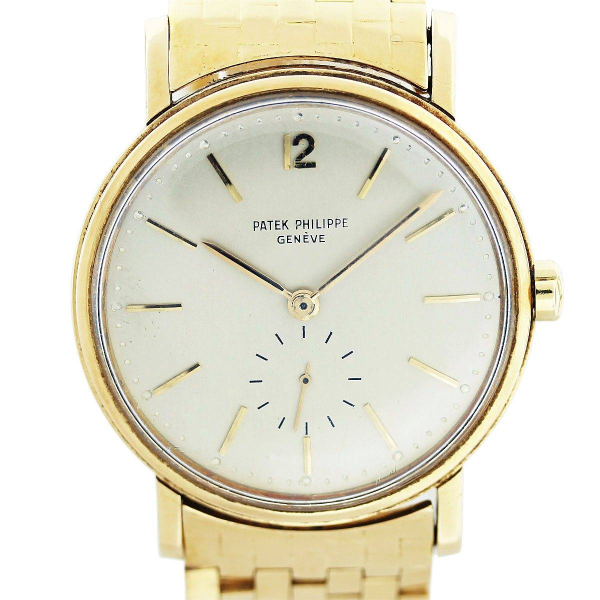 patek philippe 2548 vintage 18k yellow gold 1950s mens