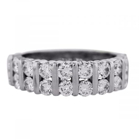 Diamond Double Row Ring