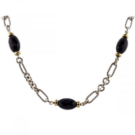 David Yurman Onyx Necklace