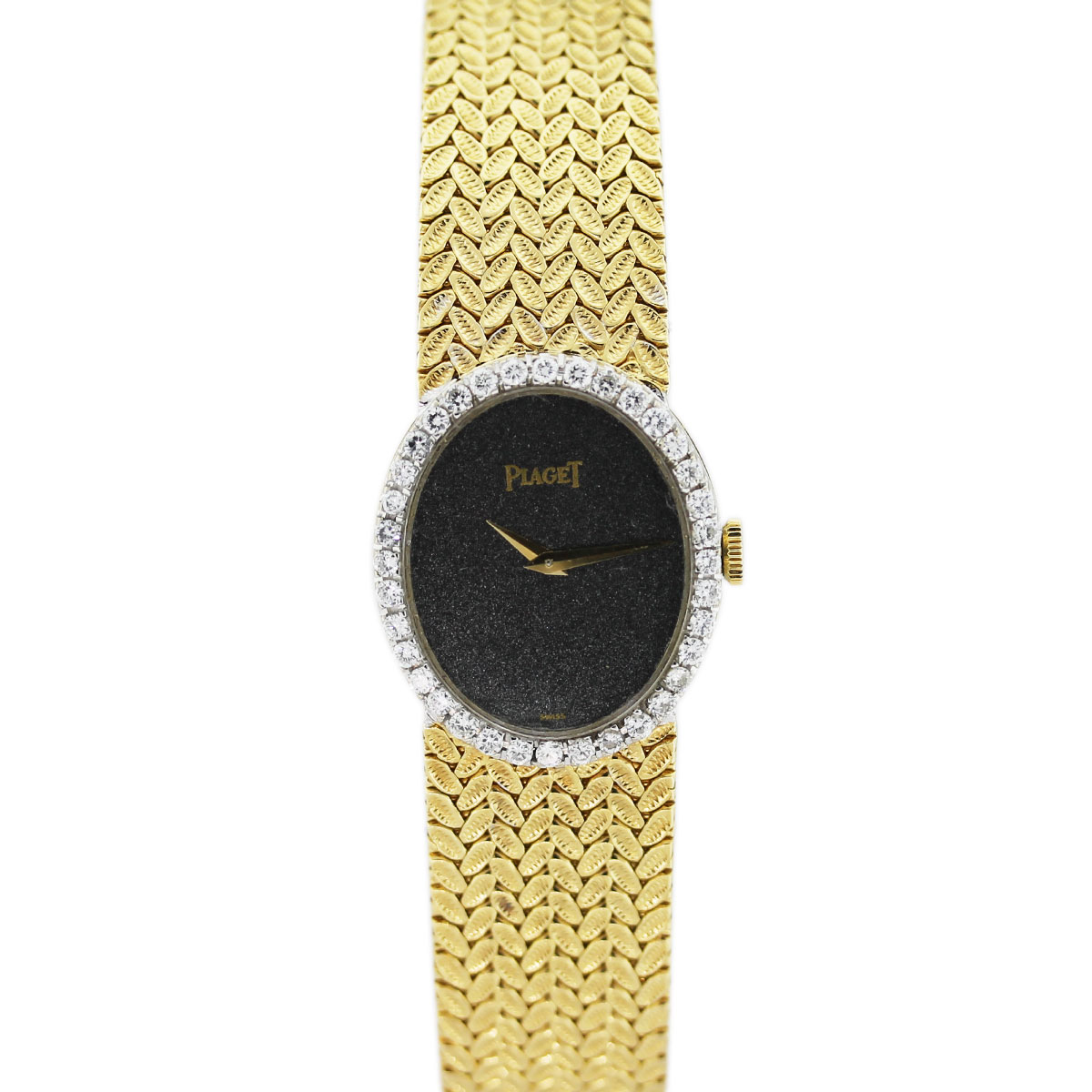 Piaget 18k Yellow Gold Diamond Bezel Watch Raymond Lee