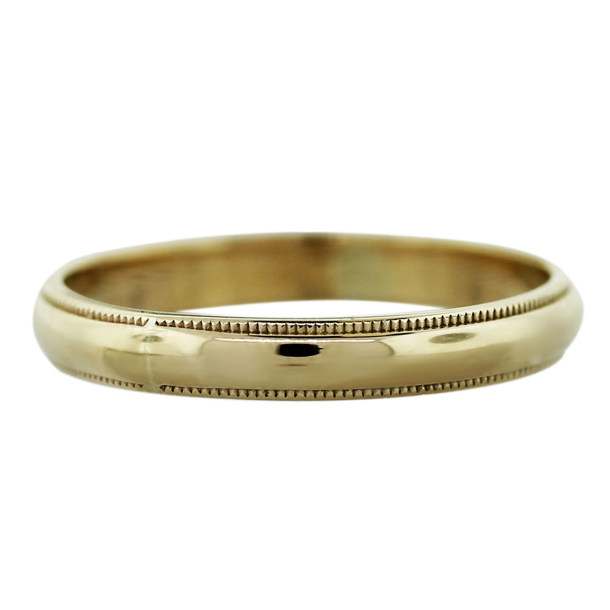 14k Yellow Gold 1.6dwt Mens Wedding Band Ring-Boca Raton