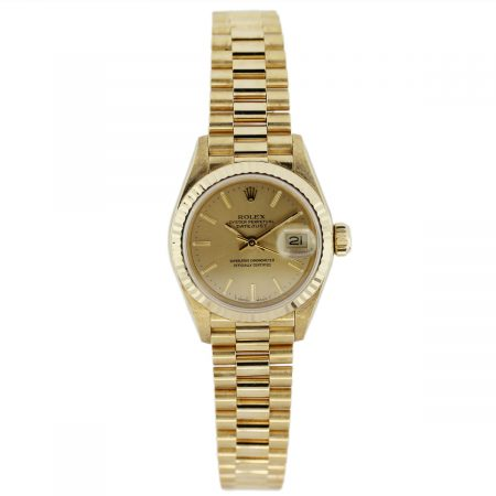 Ladies Rolex Presidential Datejust 69178 Watch