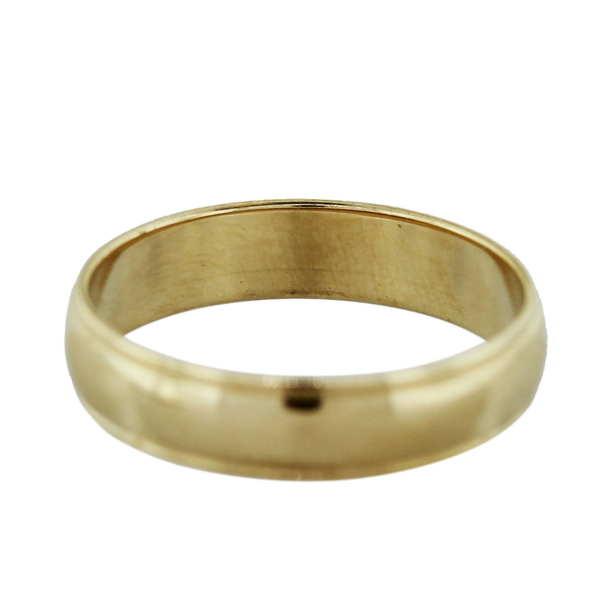 14k yellow gold mens wedding band ring boca raton