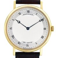 Breguet No 1773 Yellow Gold Automatic Mens Watch 5157