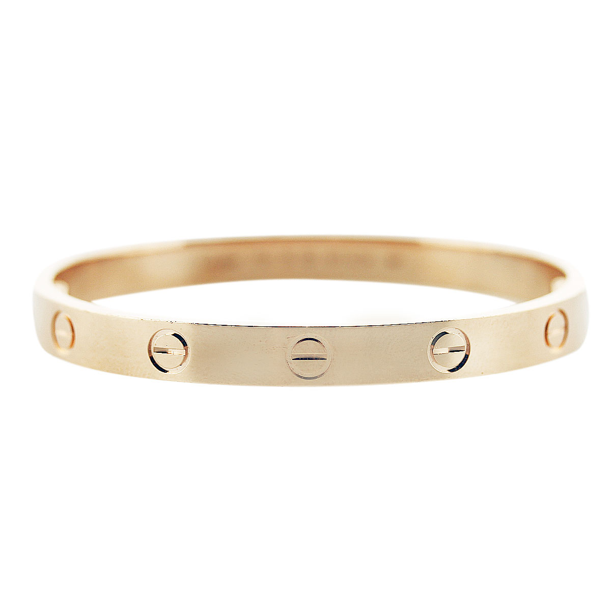 cartier love bangle rose gold
