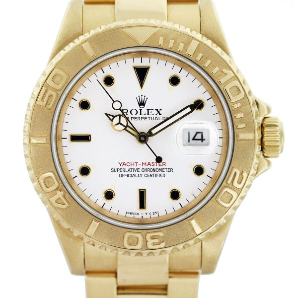 rolex gold yachtmaster