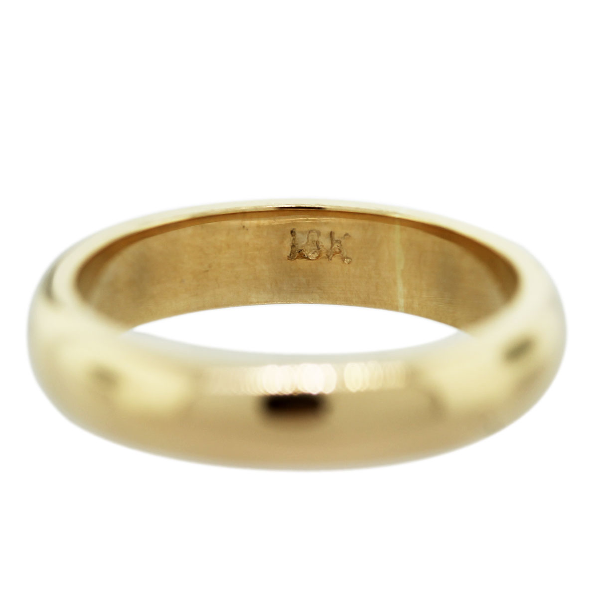 18k yellow gold men39s wedding band ring raymond lee jewelers for Ring mens wedding