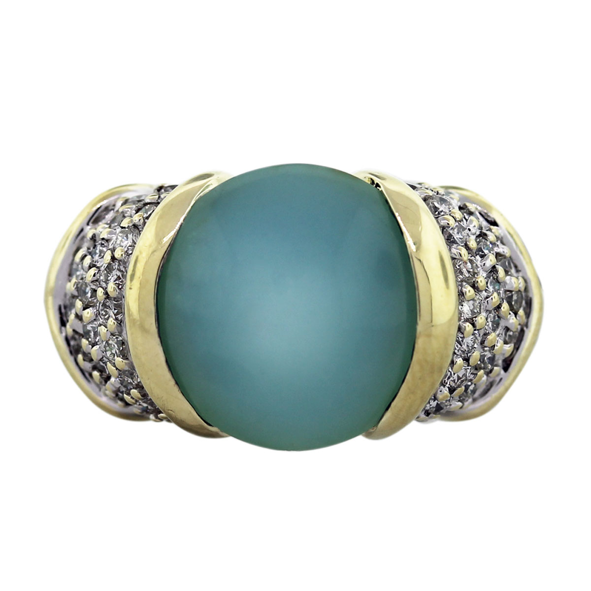 David Yurman Chalcedony Ring