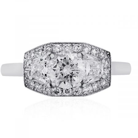 EGL Diamond Engagement Ring