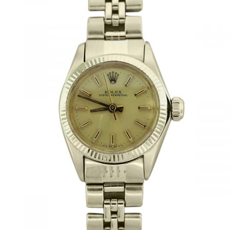 14k Yellow Gold Rolex Oyster Perpetual