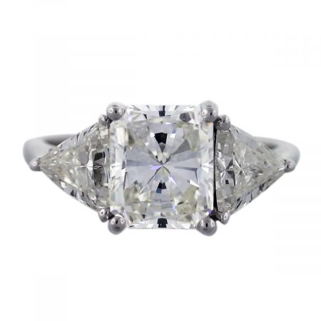 Radiant Cut Diamond Engagement Ring