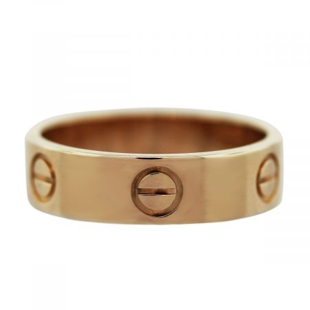 Rose Gold Cartier Ring