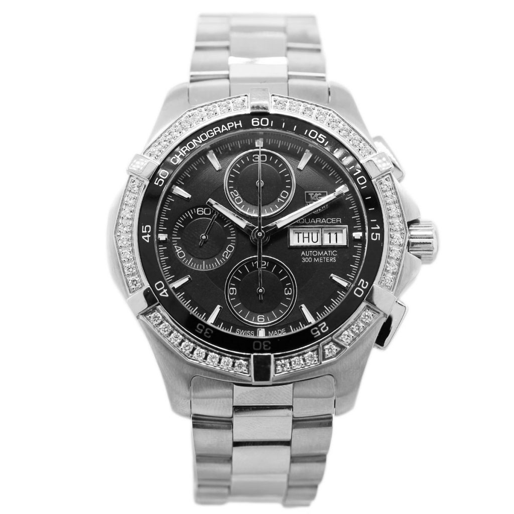 Tag heuer aquaracer caf2014 chronograph watch for Tag heuer chronograph
