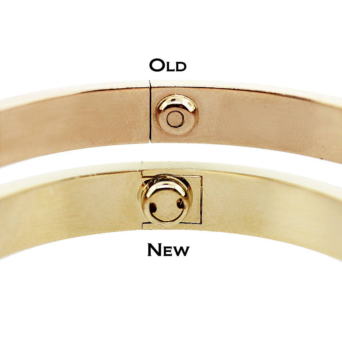 New Style Love Bracelet Old Difference Between And Used Cartier