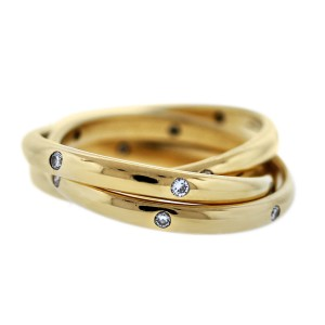 Pre owned Cartier Rolling Rings Boca Raton