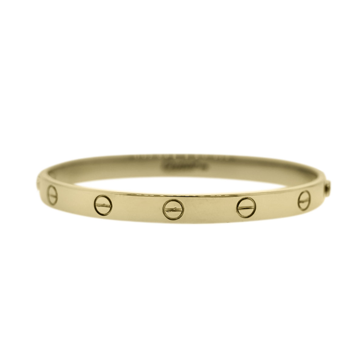 Yellow Gold Cartier Love Bangle