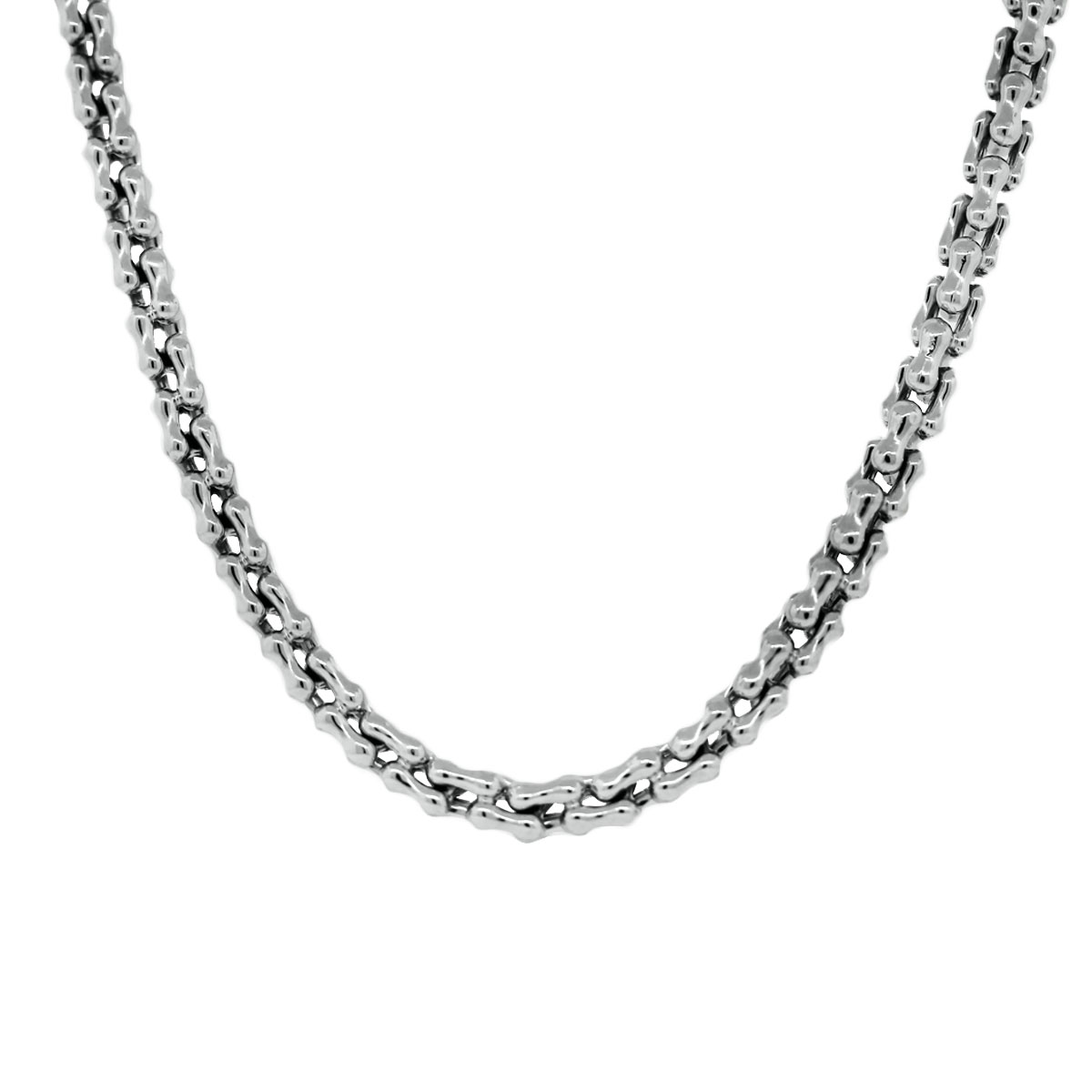 White gold Chain Necklace