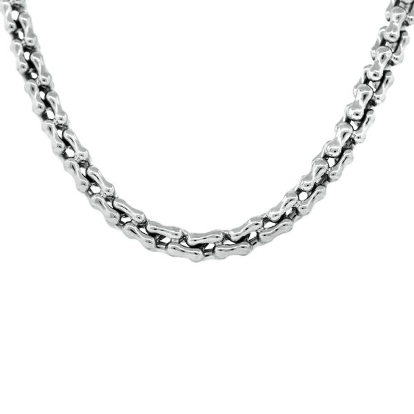 Used White Gold Chain Necklaces
