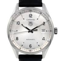 Tag Heuer Carrera WV211A Silver Dial Mens Watch