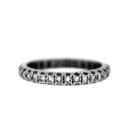 Single Cut Diamond Ring