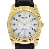 18k Yellow Gold Rolex Cellini 5330 on Leather Strap