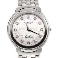 Rolex Cellini 6623/9 18k White Gold New Style Quartz Watch
