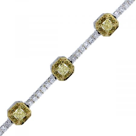 Gregg Ruth Fancy Yellow Diamond Bracelet