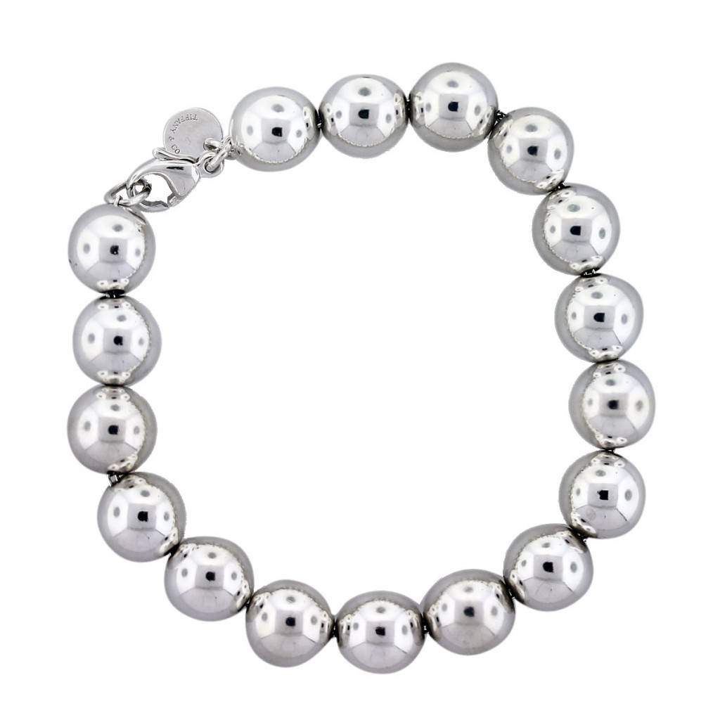 6d8e154dd Tiffany & Co. Sterling Silver Bead Bracelet