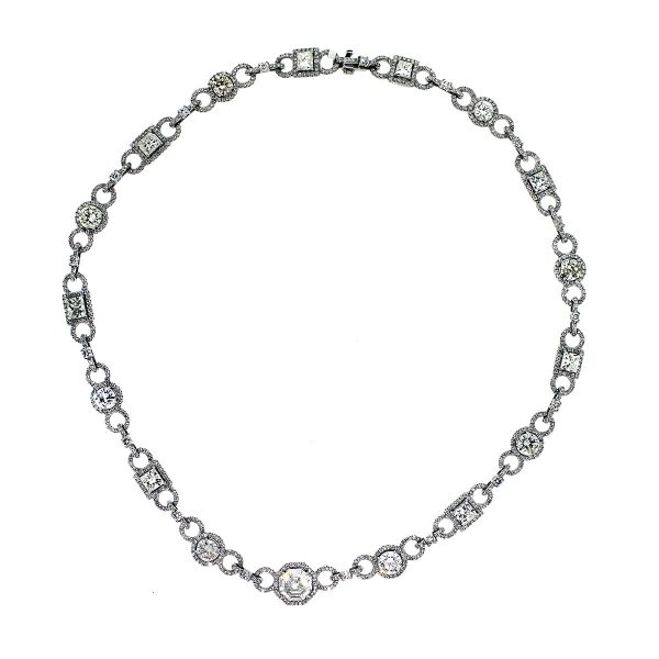 Pre Owned Diamond Necklace