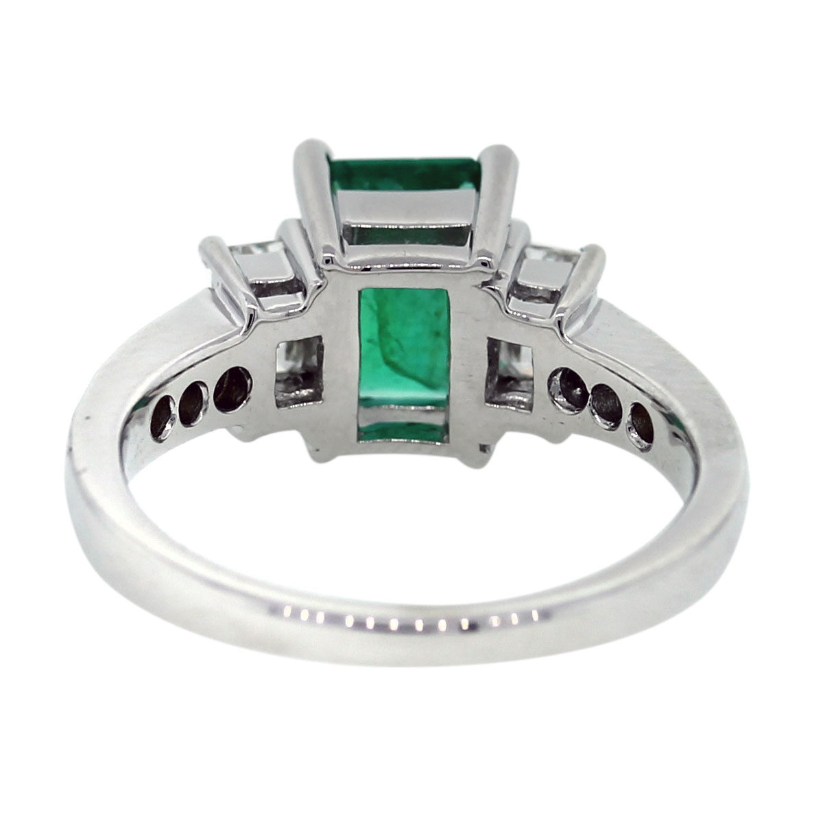 Pre Owned Emerald Ring