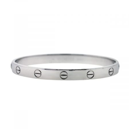 Used White Gold Cartier Love Bangle