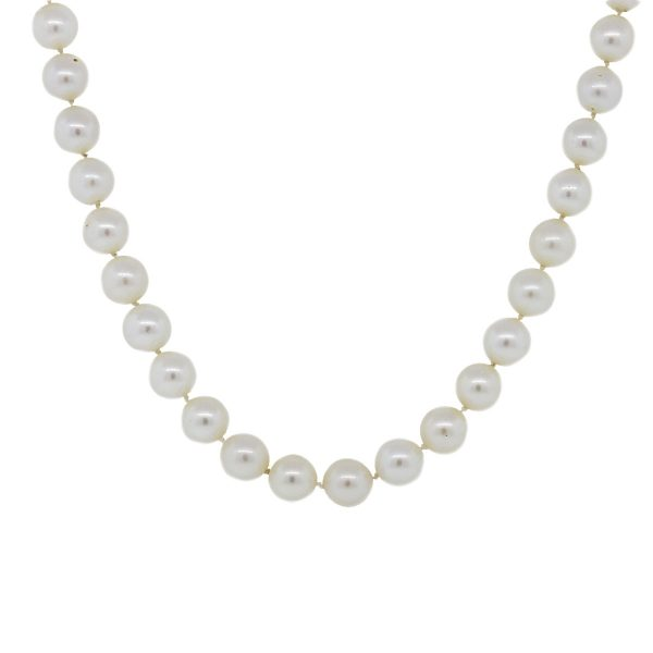 Sterling Silver Pearl Strand Necklace